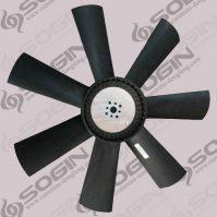 Cummins engine parts 6CT fan blades C3911326
