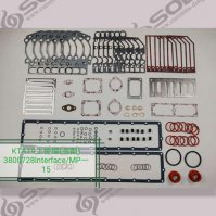 Cummins engine parts KTA19 Upper repair kit 3800728